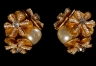 Ohrringe Miriam Haskell vergoldet handarbeit 215,00 €